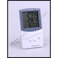 LCD Thermometer and Humidity Meter