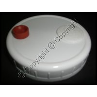 Injectable Spawn Jar Lid Widemouth - 90 mm